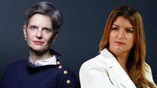 Sandrine Rousseau et Marlène Schiappa. (JOEL SAGET / AFP / Eric PIERMONT / AFP)
