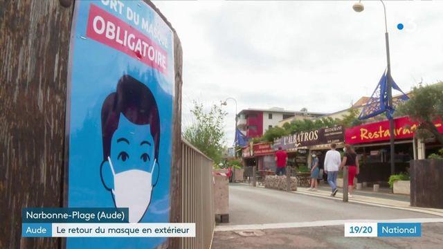Aude : le port du masque de nouveau obligatoire en extérieur