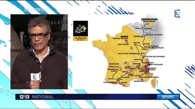 Tour de France : le tracé de l'édition 2017