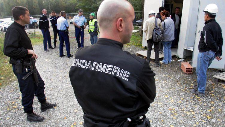 Toulouse, opération de la gendarmerie dans une entreprise qui employait des travailleurs clandestins (  MAXPPP)