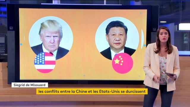 Les tensions reprennent entre les Etats-Unis et la Chine