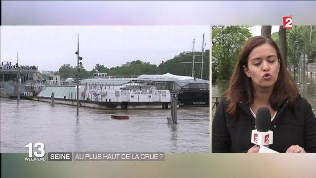 Inondations : une à deux semaines avant un retour à la normale de la Seine