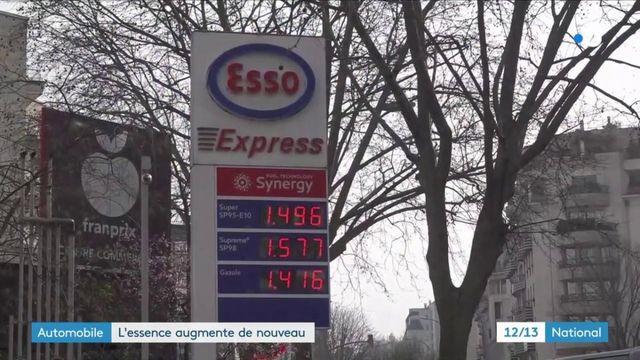 Automobile : le prix de l'essence à nouveau en hausse