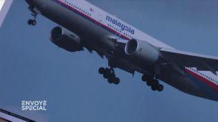 Boieng 777 de la Malaysia Airlines (FRANCE 2 / FRANCETV INFO)