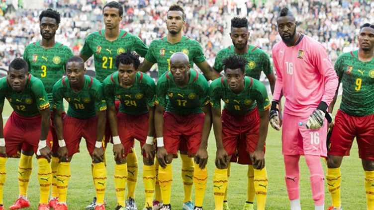 L'équipe nationale du Cameroun (JOHN MACDOUGALL / AFP)