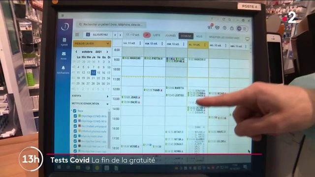 Covid-19 : afflux massif dans les pharmacies avant la fin de la gratuité des tests