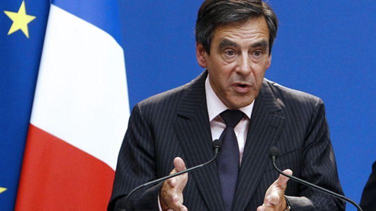"""Le régime syrien est """"dans une fuite en avant"""", a déclaré mardi François Fillon (AFP Pierre Verdy)"""