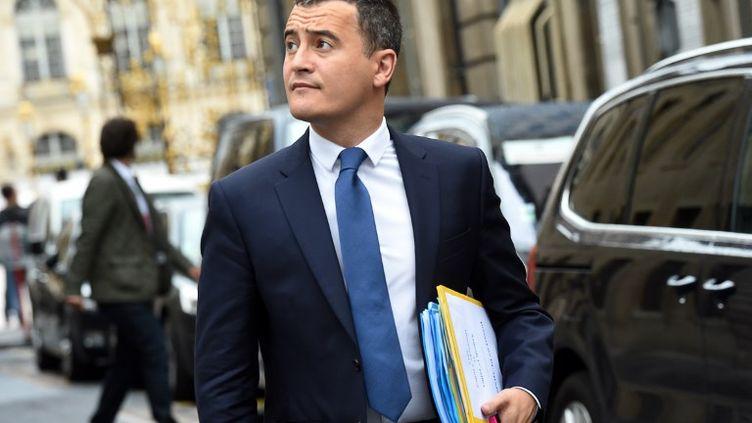 Le ministre des Comptes publics, Gérald Darmanin, en juin 2017. (FRANCOIS LO PRESTI / AFP)