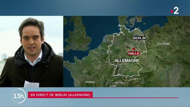 Allemagne : deux morts dans une fusillade à Halle
