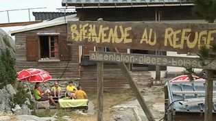Le refuge Jeandel, à La Pierre Saint-Martin (Pyrénées-Atlantiques). (FRANCE 3)