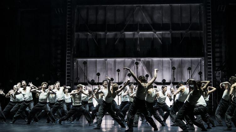 """""""Boddy and Soul"""" de Crystal Pite en création mondiale à l'Opéra Garnier (JULIEN BENHAMOU)"""