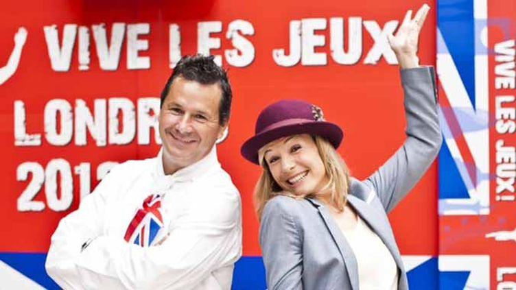 Christophe Leroy et Louise Ekland