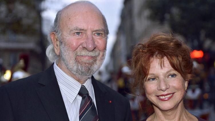 Jean-Pierre Marielle et son épouse Agathe Natanson  (ERIC FEFERBERG / AFP)