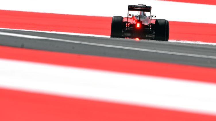 La Ferrari de Kimi Räikkönen