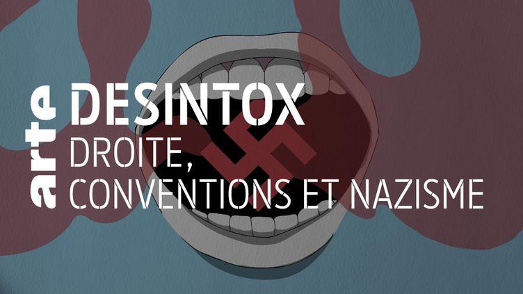 Désintox. Non, il n'y a pas eu d'éloge au nazisme lors de la Convention de la droite (ARTE/LIBÉRATION/2P2L)