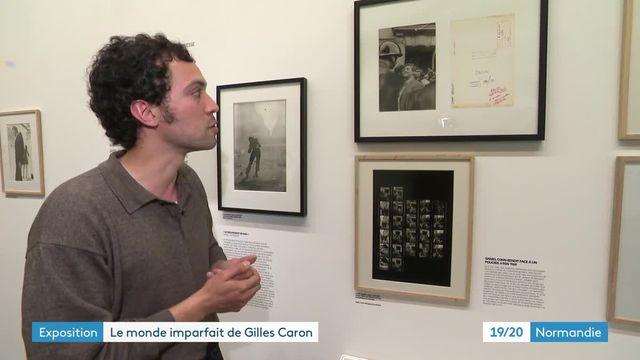 Exposition Gilles Caron à Cherbourg