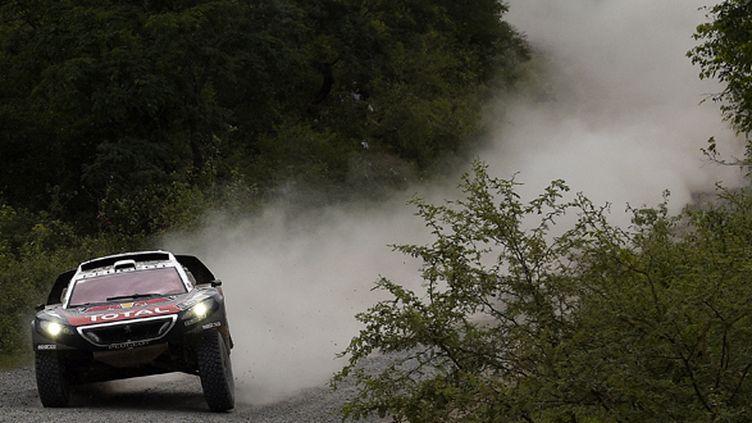 Sébastien Loeb a remporté les deux premières étapes du Dakar 2016 (FRANCK FIFE / AFP)