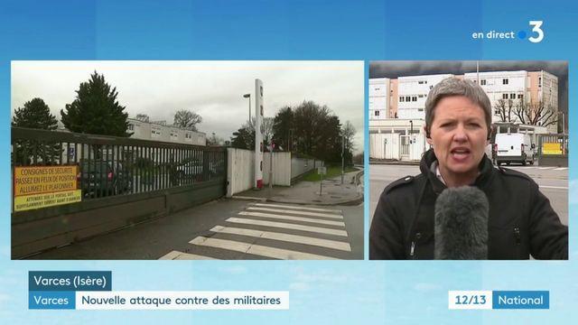 Isère : un conducteur tente de renverser des militaires