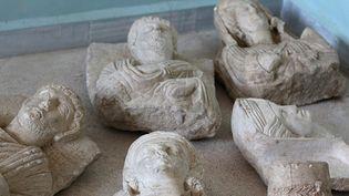 Antiquités à Palmyre  (HO / WELAYAT HALAB / AFP)