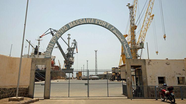 L'entrée du port de Massawa (centre de l'Erythrée) le 22 juillet 2018 (REUTERS/Tiksa Negeri)