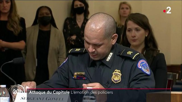 Etats-Unis : des policiers témoignent de la violence de l'assaut du 6 janvier dernier devant le Capitole