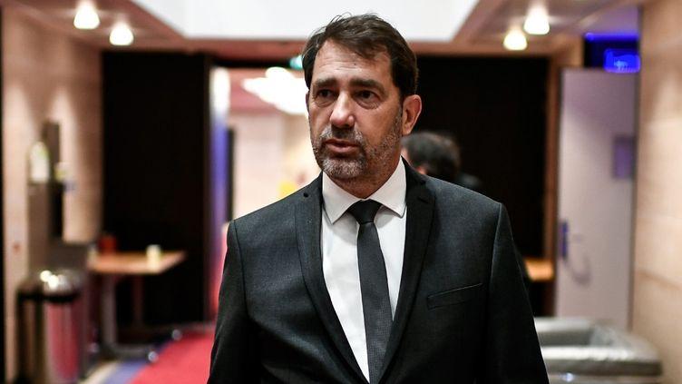 Christophe Castaner arrive à l'Assemblée, le 2 juillet 2020. (STEPHANE DE SAKUTIN / AFP)