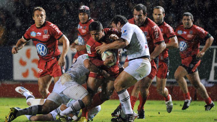 Montpellier reçoit Toulon. (GERARD JULIEN / AFP)