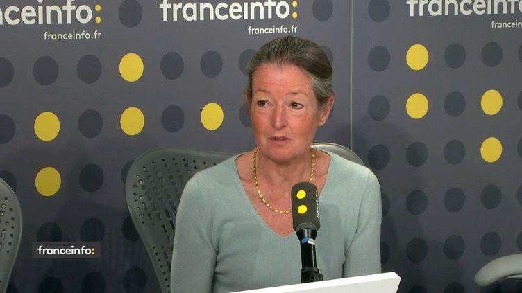 Odile Launay, infectiologue à l'hôpital Cochin à Paris. (FRANCEINFO / RADIO FRANCE)