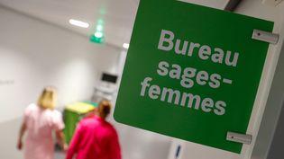 Le bureau des sages-femmes de l'hôpital Nord Franche-Comté, le 5 mars 2021. (MAXPPP)