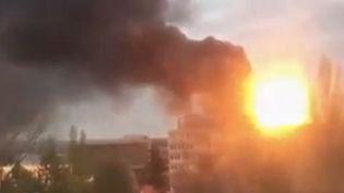 Explosion à Villeurbanne (France 2)