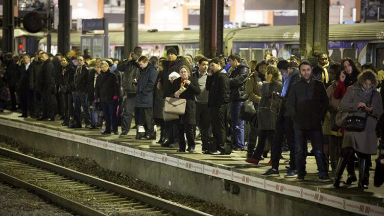 (La grève des conducteurs du RER A a empêché certains candidats à l'agrégation de passer le concours. © MaxPPP)