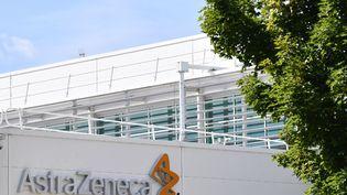 L'usine AstraZeneca de Liverpool, dans le nord-ouest de l'Angleterre, le 20 juillet 2020. (PAUL ELLIS / AFP)