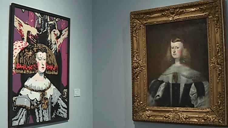 Face à face entre des oeuvres du passé et du présent  (Capture d'image France 3/Culturebox)