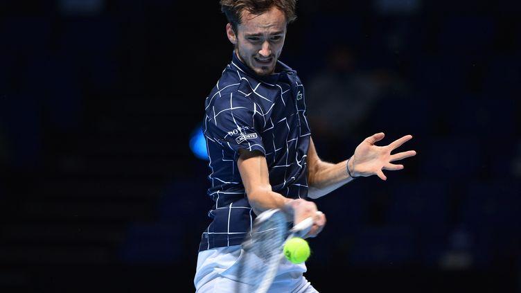 Daniil Medvedev, 4e joueur mondial. (GLYN KIRK / AFP)
