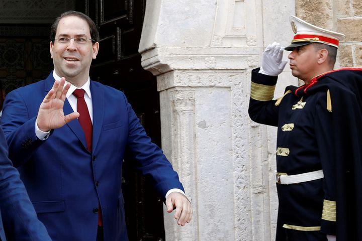 Le Premier ministre tunisien, Youssef Chahed, à Tunis le 30 avril 2019 (REUTERS 6 ZOUBEIR SOUISSI / X02856)