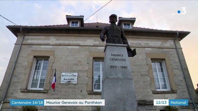 Centenaire de la Grande Guerre : Maurice Genevoix rentre au Panthéon