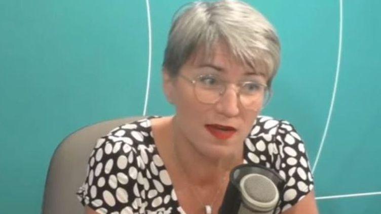 """Clara de Bort, directrice de l'agence régionale de la santé à Cayenne. """"Il faut que les droits des femmes soient respectés"""", a-t-elle déclaré. (GUYANE LA 1ERE)"""