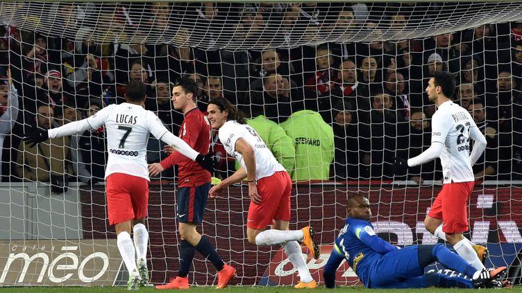 Cavani sur l'ouverture du score du PSG