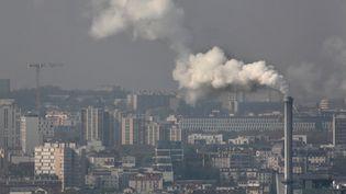 Les principaux gaz à effet de serre à l'origine du réchauffement climatique ont franchi de nouveaux records de concentration en 2018, s'est alarmée l'ONU, le 25 novembre 2019. (Photo d'illustration) (MANUEL COHEN / AFP)
