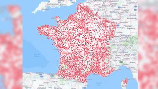 CARTE. Primaire de la gauche : où sont situés les bureaux de vote ? (NICOLAS ENAULT / CARTO)
