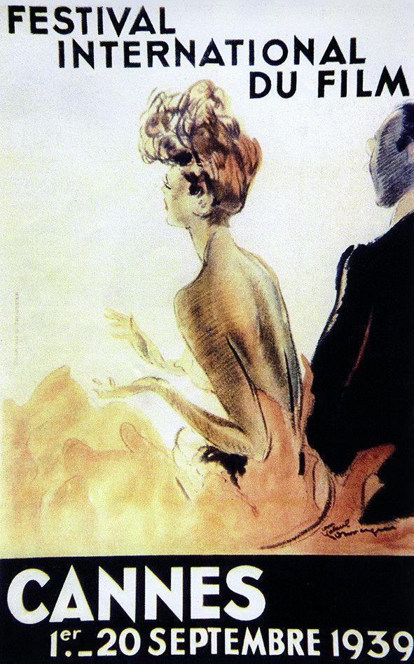 Affiche Festival Cannes 1939 (CAPTURE D'ÉCRAN FRANCE 3)