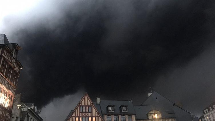 La place du Vieux-Marché à Rouen, le 26 septembre 2019. (CORALIE MOREAU / FRANCE BLEU HAUTE-NORMANDIE / RADIO FRANCE)