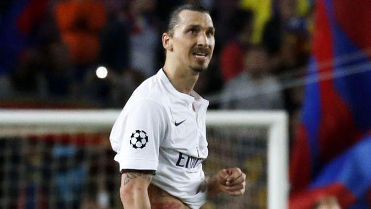 Le buteur du PSG Zlatan Ibrahimovic