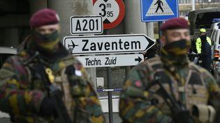"""Sous son nom de guerre """"Abou Ahmad"""", ce jihadiste de 32 ans est soupçonné d'avoir télécommandé depuis la Syrie les attentats de Paris et de Bruxelles. (JOHN THYS / AFP)"""