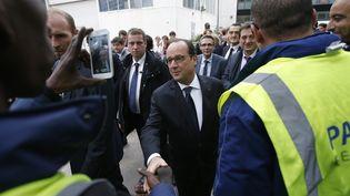 La Courneuve (Seine-Saint-Denis) visite du président de la République le 20 octobre 2015 (REUTERS )