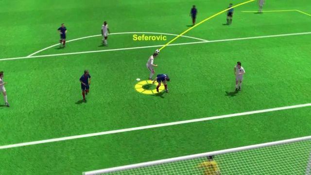 France-Suisse : l'ouverture du score de Haris Seferovic (0-1)