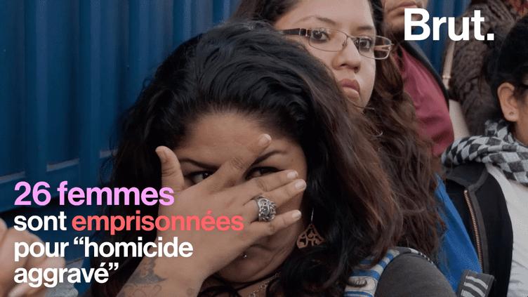 Au Salvador, une femme est condamnée à 30 ans de prison pour une fausse couche (BRUT)