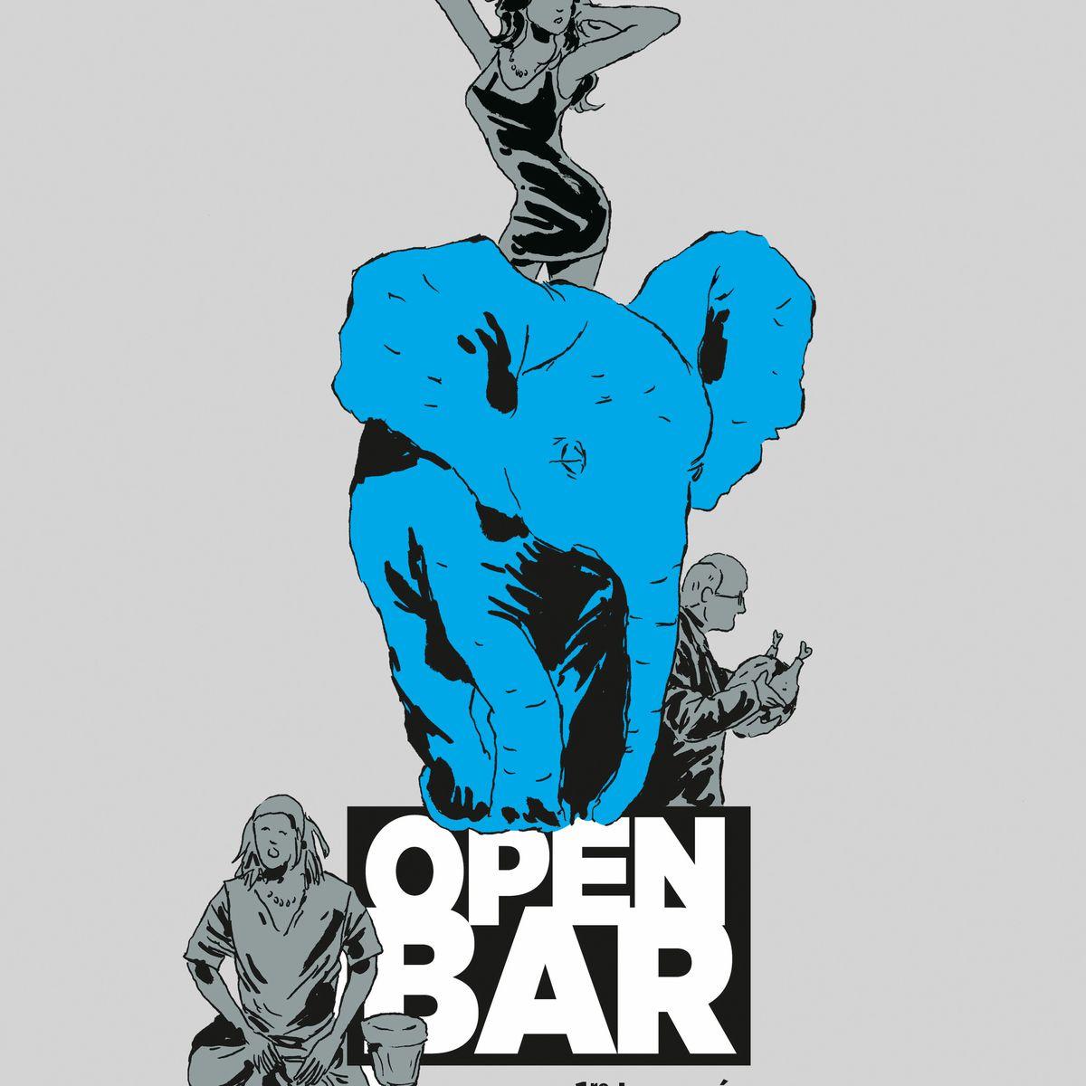 Bd Open Bar Fabcaro Se Lache Sur Nos Obsessions Contemporaines