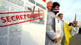 Secret-défense (FRANCOIS LO PRESTI / AFP)
