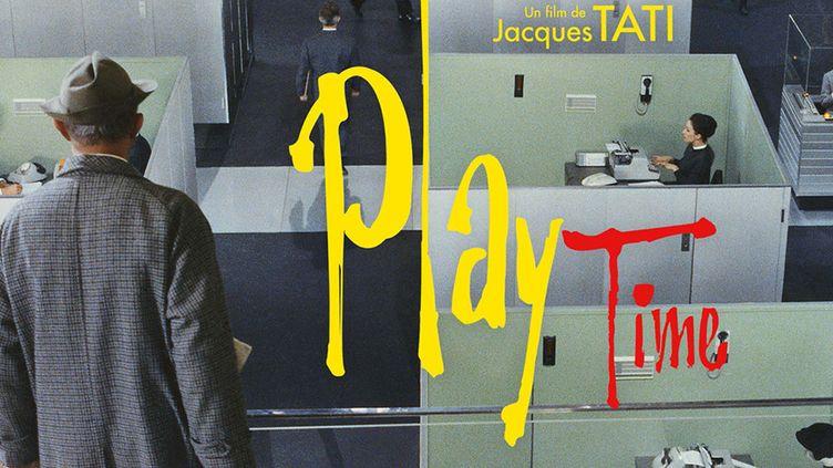 Affiche de PlayTime, de Jacques Tati